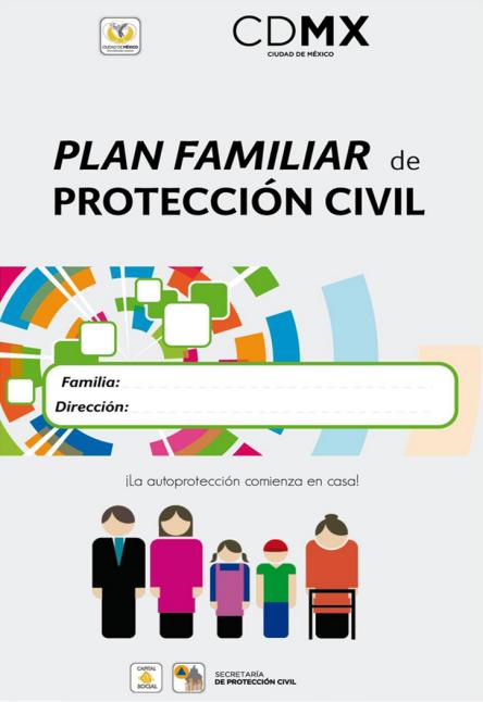 PORTADA DEL PLAN FAM DE PROTECCIÓN CIVIL