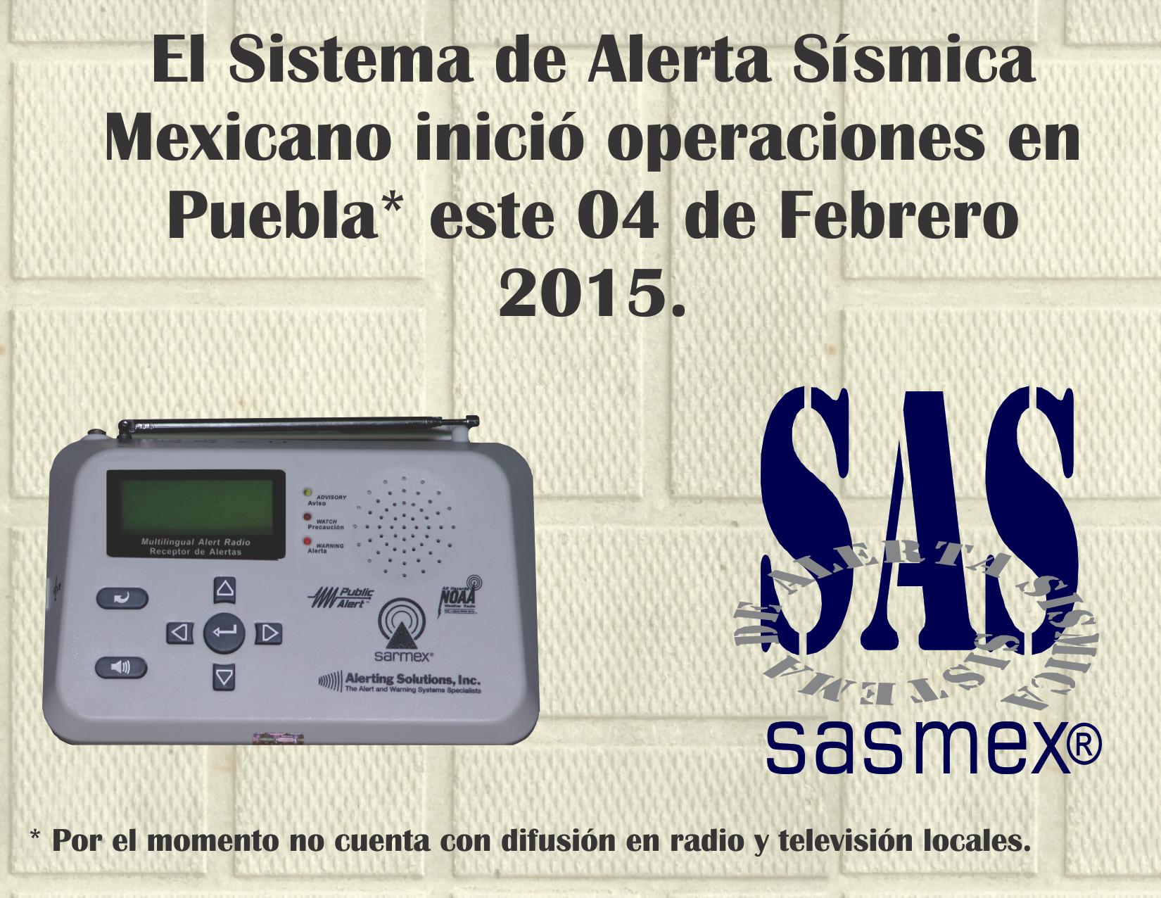 Puebla cuenta ya con el sistema de alerta s smica mexicano for Cuanto cuesta contratar una alarma
