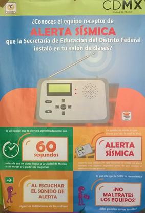 alerta en escuelas