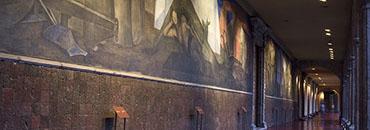 Miercoles, 30 de Abril 2014. San Indelfonso abri— las puertas de sus exposiciones para participar en la Noche de Museos. Foto: Tania Victoria / Secretaria de Cultura