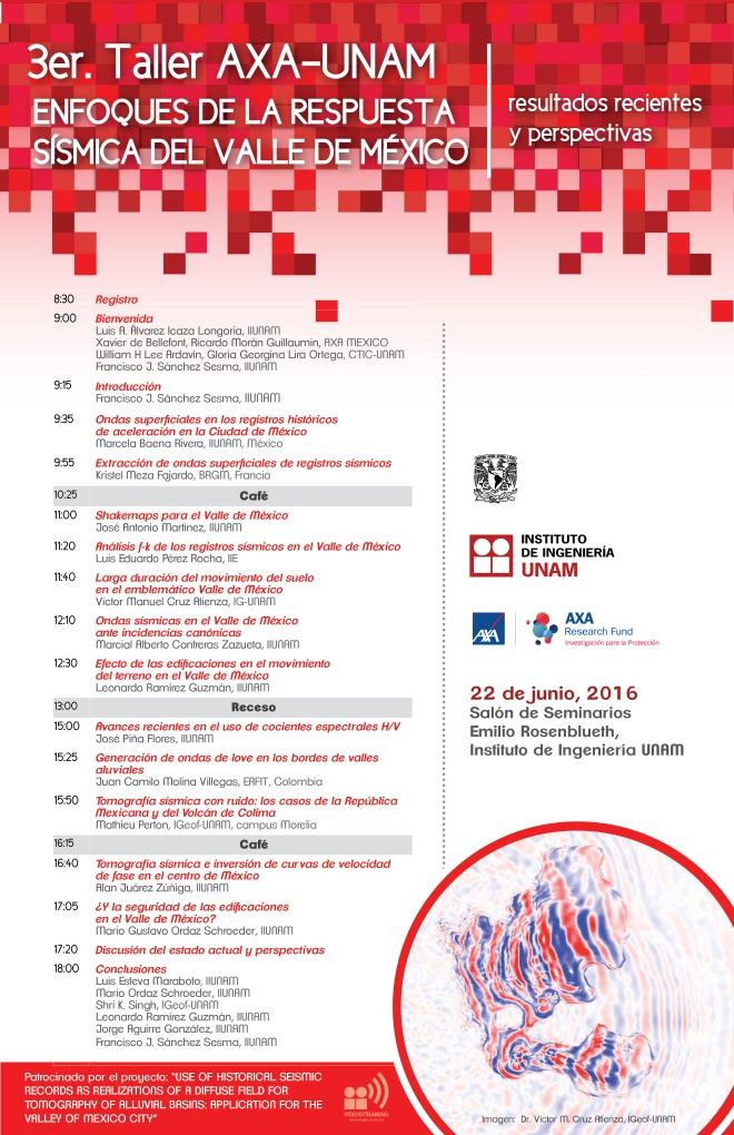 3er Taller AXA-UNAM-22JUN2016