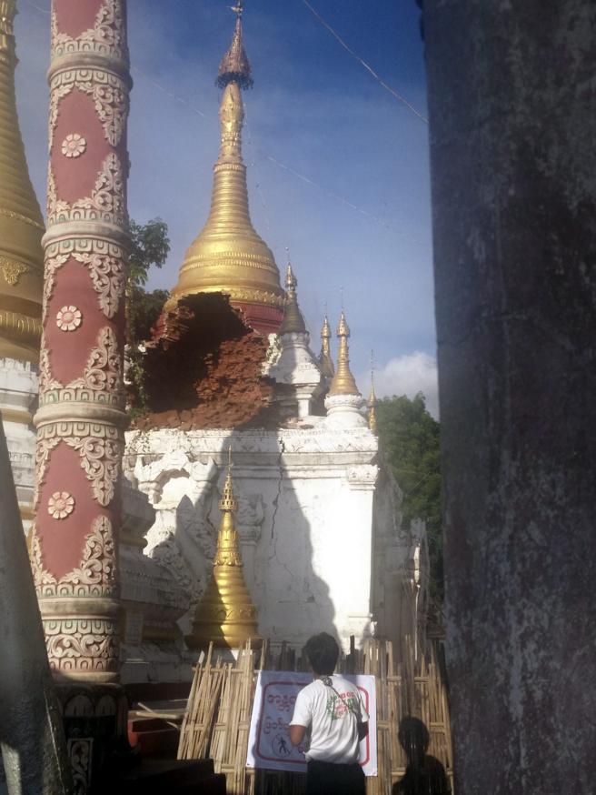 sismo en birmania